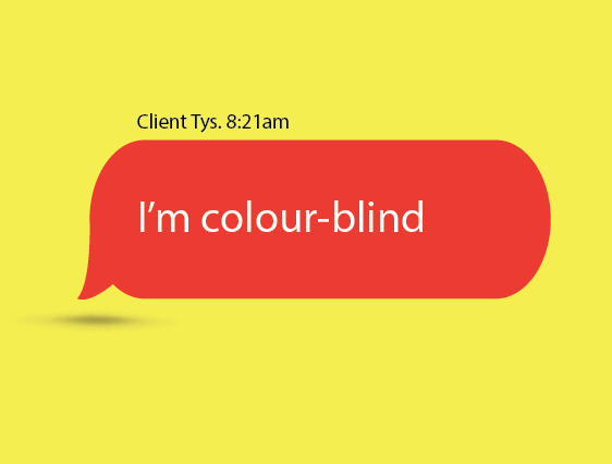 CreH8ive Colourblind